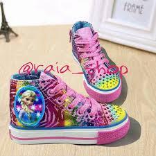 Sepatu Sketcher Anak Perempuan jual sepatu anak perempuan booth sketcher frozen raia shop