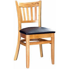 Wooden Chairs For Dining Room Wood Vertical Slat Restaurant Dining Chair