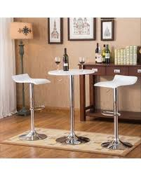 adjustable height bar table don t miss this deal roundhill furniture baxton adjustable height