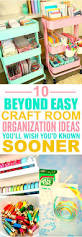10 beyond clever craft room organization ideas clever