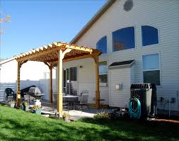 8 X 10 Pergola by Customer U0027s Photo 8 U0027 X 16 U0027 Treated Pine 2 Beam Pergola