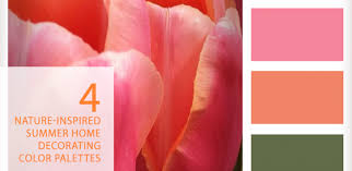 Home Decorating Color Palettes by Fresh From The Tulip Fields U2013 Summer Home Decorating Palettes