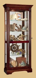 cherry curio cabinets cheap forster curio cabinet with royale cherry finish 8010