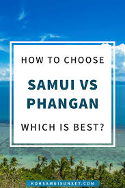 koh samui vs koh phangan hotels prices and comparison