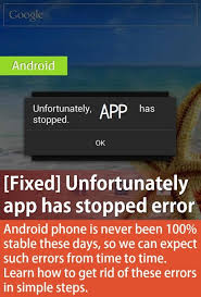 android phone stopped solved unfortunately app has stopped errors 2018 fix android