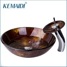 online get cheap glass bowl sink aliexpress com alibaba group