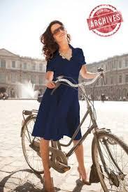 shabby apple indigo color block ponte swing dress blue dresses