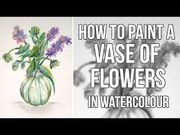 How To Paint A Flower Vase Cheap Watercolour Paint Cake Find Watercolour Paint Cake Deals On