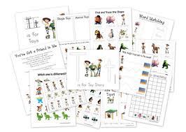 1 1 1 u003d1 toy story preschool printables