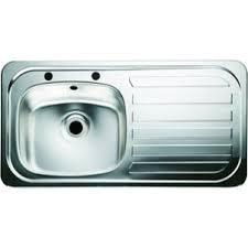 wickes single bowl kitchen stainless steel sink u0026 drainer wickes