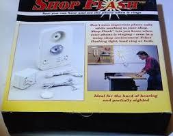 visual phone ringer light telephone alert phone ringer visual light flasher hearing impaired