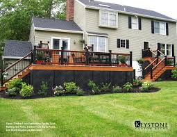deck skirting black square decks pinterest decking squares