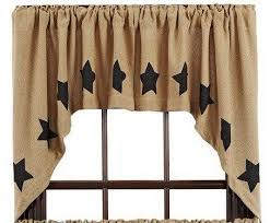Lined Swag Curtains Elaine Rouge Scalloped Lined Swag Curtains U2013 Primitive Star Quilt Shop