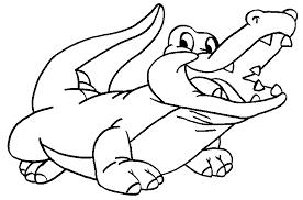 106 dessins de coloriage crocodile à imprimer sur LaGuerchecom  Page 1