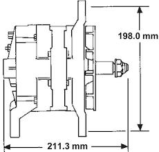 26si 21si alternator specifications delco remy