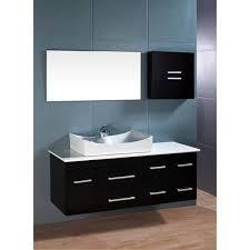 Wall Mounted Bathroom Cabinets Modern Wall Mount Bathroom Vanity Zdhomeinteriors Com