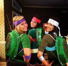 Ninja Turtle Halloween Costume Girls 24 Cheap Easy Diy Group Costumes Halloween Twistedsifter