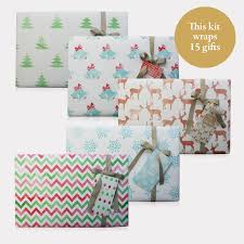 wrap paper modern christmas 15 gifts package shopnice package shop