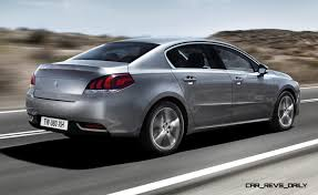 new peugeot sedan update2 new photos 2015 peugeot 508 facelifted with new led drls