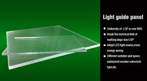 light guide plate suppliers acrylic sheet pmma light guide plate lgp id 8972335 buy china