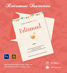 free templates for retirement party invitations pacq co