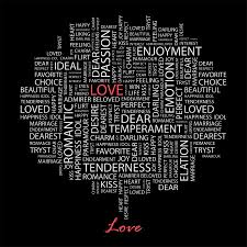 words wall murals quotes wall art wall stickers majestic love with word cloud wall mural