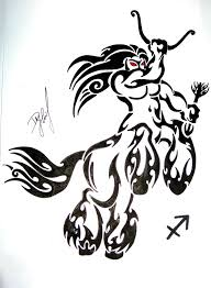 17 tribal tattoo leo pisces tribal by kuroakai on