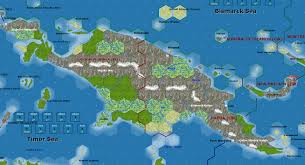 Guadalcanal Map Solomon Islands Map