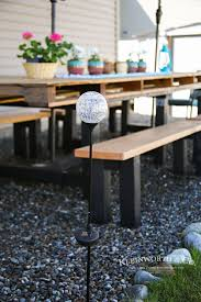 Outdoor Pallet Table Spring Outdoor Pallet Table Decor Kleinworth U0026 Co
