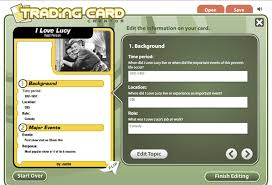 bcpsodl readwritethink trading card creator