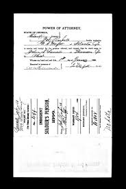 Power Of Attorney Form Ga by Job Russell Born In Pennsylvania Our Family Heritage