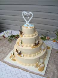 beach theme wedding cake cakecentral com