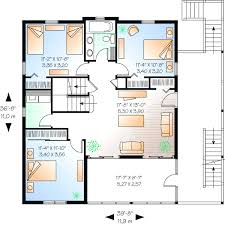 3 bedroom 2 story house plans 5 floor house plans home deco plans
