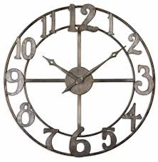 iron wall clock for interior u2013 wall clocks