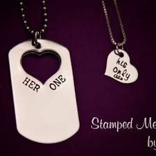 his and hers dog tags shop sted jewelry tags on wanelo