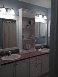 Pinterest Bathroom Mirror Ideas Best 25 Bathroom Mirror Redo Ideas On Pinterest Diy Large