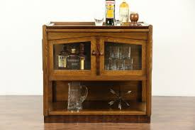 Retro Bar Cabinet Sold Deco 1925 Vintage Bar Cabinet Tray Oak Rosewood