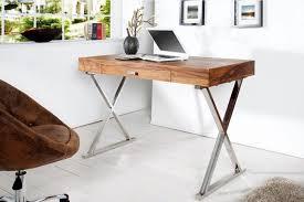 bureau 120 cm bureau design bois en de chene lino 120 cm beraue mobilier pas