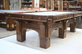 Antique Brunswick Pool Tables by St4 Jpg