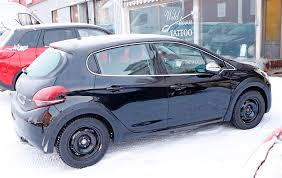 black peugeot peugeot 208 gti starts at 18 895 in the uk autoevolution
