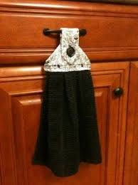kitchen towel craft ideas diy hanging towel for the kitchen craft ideas