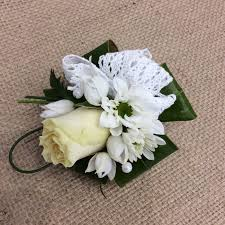 simple wrist corsage u2022 a touch of class florist