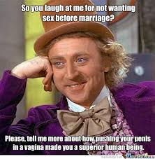 Vulgar Memes - just a thought i would have used slang expressions for the genitals