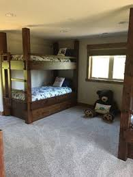 Twin Xl Loft Bed Frame Twin Xl Over Full Xl Bunk Bed Shown With Optional Headboard Goose