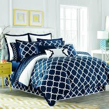 Moroccan Bed Linen - shop jill rosenwald hampton links white u0026 navy bed linens the
