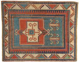 tappeti antichi caucasici kazak fakralo curiosamente asimmetrico morandi tappeti