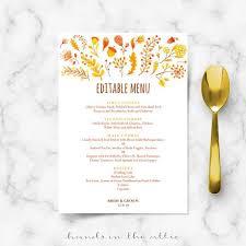 brunch wedding menu 68 best wedding menu cards images on wedding menu