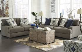 Ashley Furniture Leather Loveseat Carlino Mile Mineral Sofa U0026 Loveseat Set Ashley Furniture