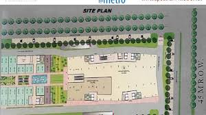 Metro Arena Floor Plan by Spectrum Metro Sector 75 Noida Official Booking By Maztro