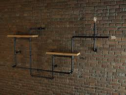 industrial style pipe shelves 3d model cgtrader industrial style pipe shelves 3d model max 7